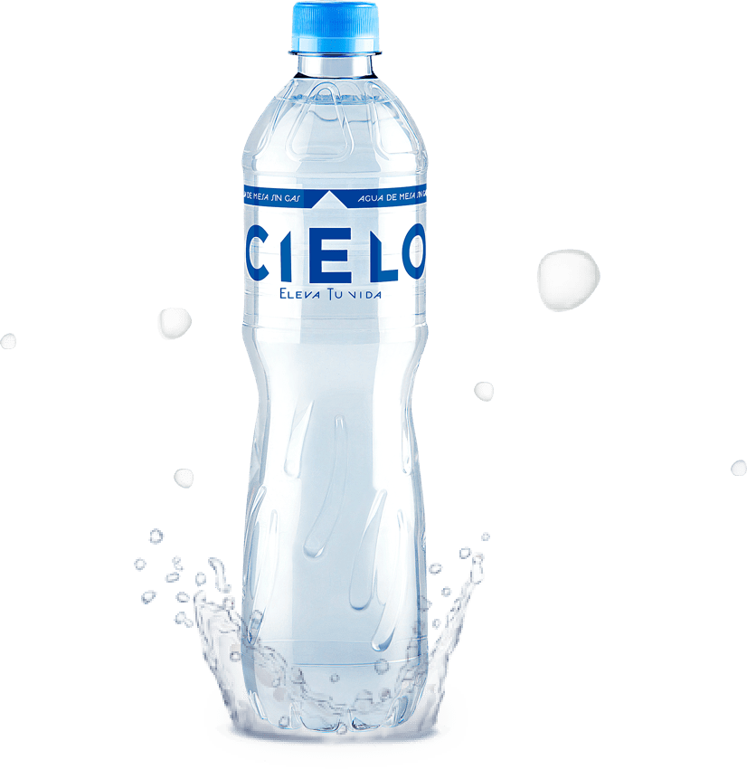 Bottled water cielo